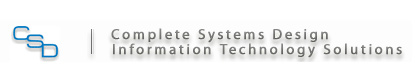 Complete Systems Design Information Technology Solutions