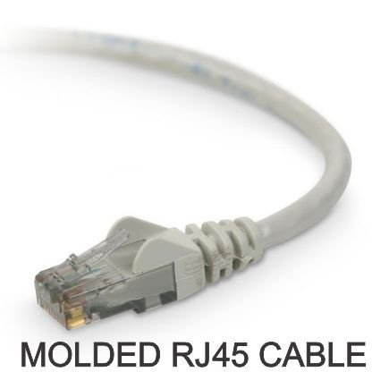 Molded Snagless RJ 45 Network cable