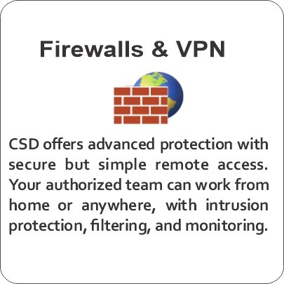 Firewall and VPN access