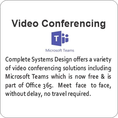 Video Teleconference Teams Skype